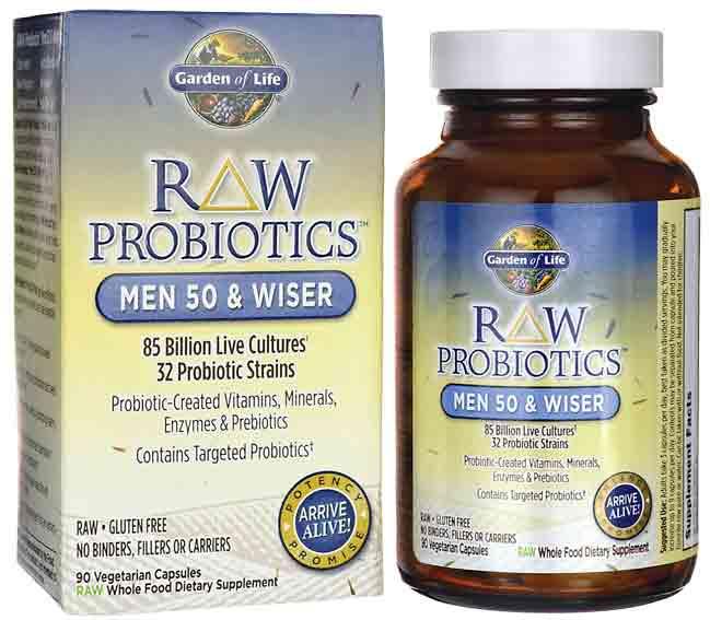 Best probiotics for men health weight loss over 50 top - Garden of life raw probiotics side effects ...