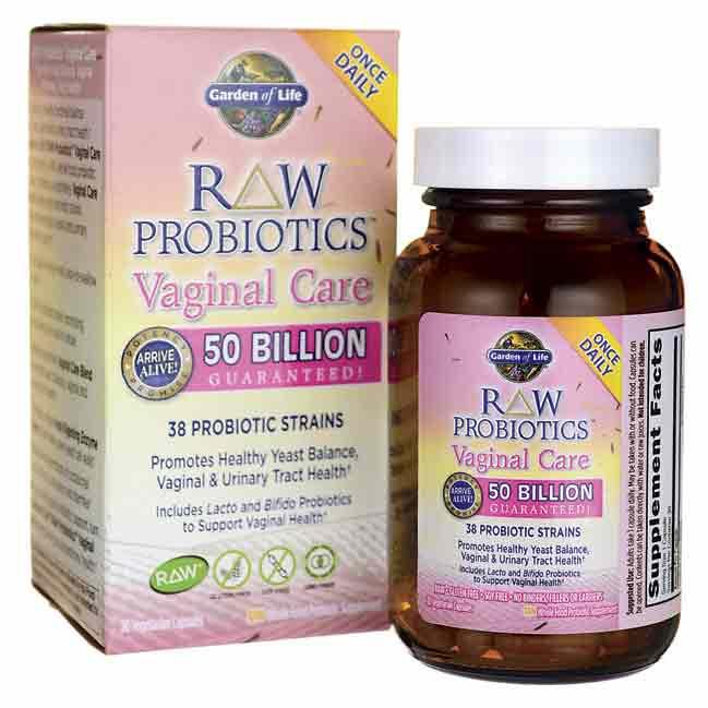 Raw probiotics vaginal care best probiotics info for Garden of life probiotics review